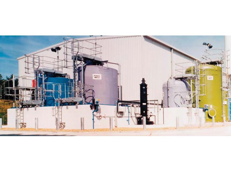 Баки и резервуары из термопластика (двойное ламинирование)