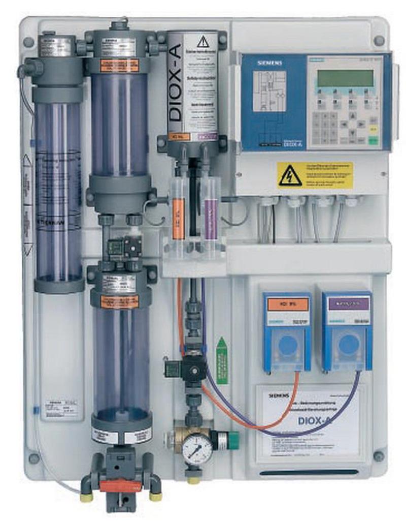 DIOX-A 10 Технология кислота-хлорит
