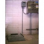 Сопутствующее оборудование для обеззараживания воды хлором - Весы для баллонов и цилиндров с контролем уровня, расхода и скорости подачи Drumm-Scale® — Электронные