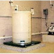 Сопутствующее оборудование для обеззараживания воды хлором - Весы для баллонов и цилиндров с контролем уровня, расхода и скорости подачи Chem -Scale® — Электронные