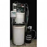 Сопутствующее оборудование для обеззараживания воды хлором - Контроль уровня, расхода и скорости подачи. Система разбавления по весу Merlin