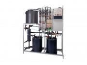 Установка диоксида хлора. Обеззараживание диоксидом хлора - DIOX-A5000 Технология кислота - хлорит