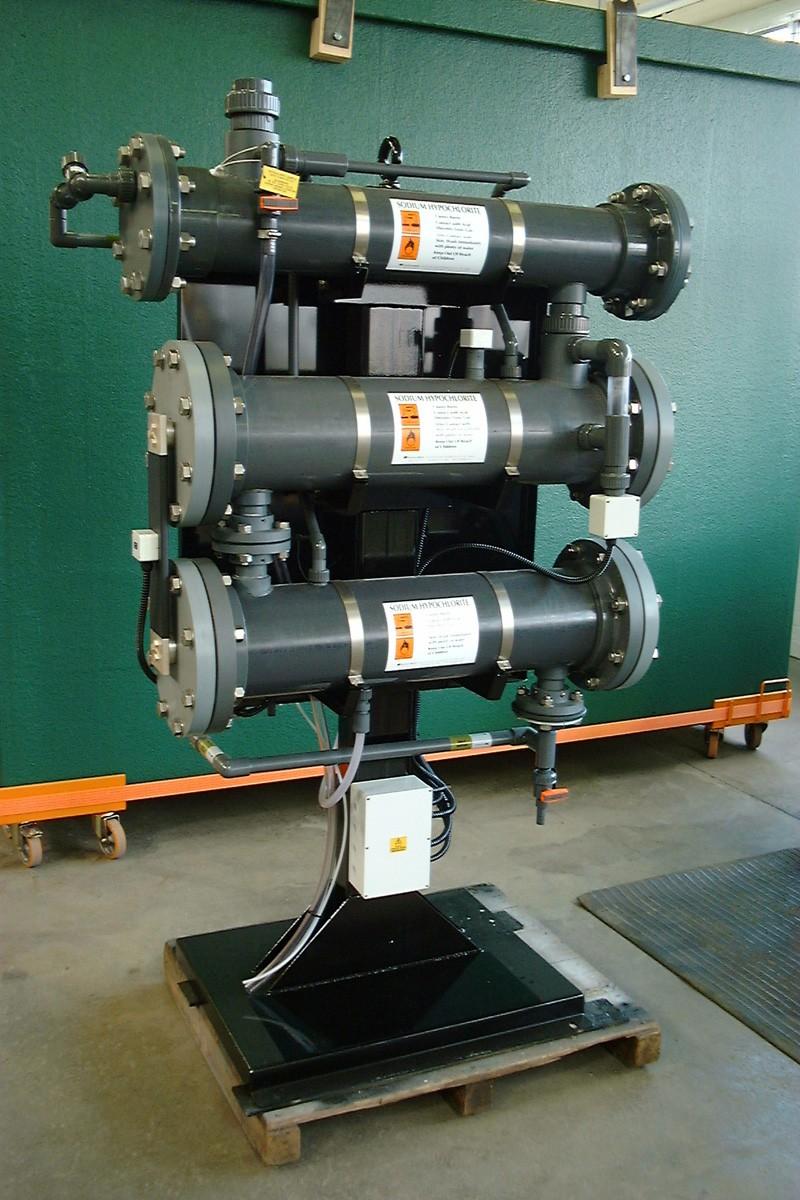 OSEC B2-200 (от 118 до 227 кг экв. хлора в сутки)