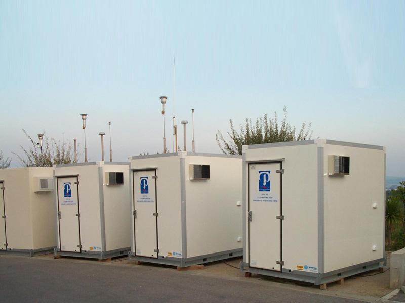 Мобильные и стационарные лаборатории SERES Environnement