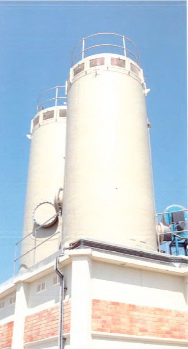 Дегазаторы для удаления СО2