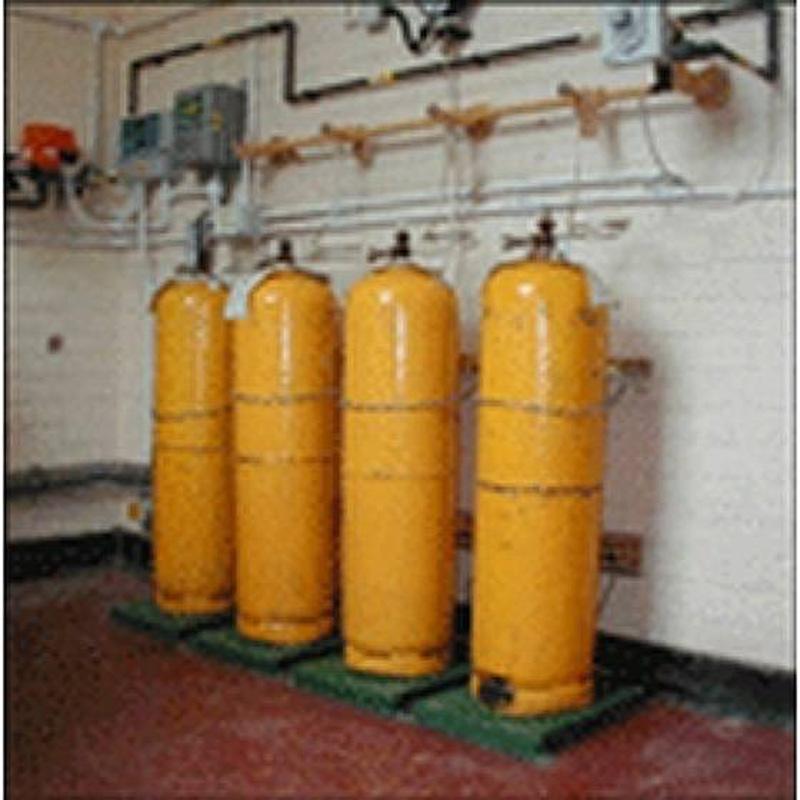 Весы для газовых контейнеров с контролем уровня, расхода и скорости подачи Chlor-Scale® — Электронные