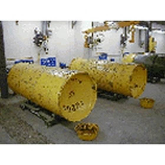 Весы для газовых контейнеров с контролем уровня, расхода и скорости подачи — Тонна-контейнеры