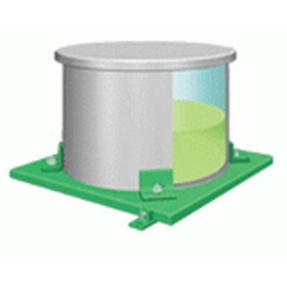 Весы для баллонов и цилиндров с контролем уровня, расхода и скорости подачи Chem-Scale® — Гидравлические